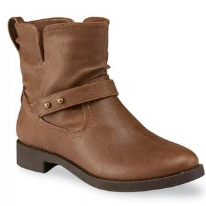 Bongo emme brown ankle boots